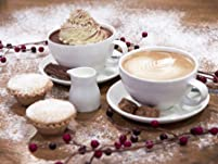 Mince Pies and Festive Hot Drinks for Two at Wyevale Garden Centres Nationwide