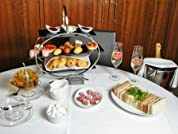 A Choice of Afternoon Tea for Two or Afternoon Tea with Prosecco and Strawberries
