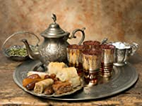 Moroccan Afternoon Tea for Two People with Champagne Option