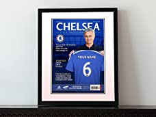 Personalised Football Magazine Cover in a Frame