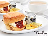 Drucker's Vienna Patisserie Choice of Scones and Tea or Coffee for Two People