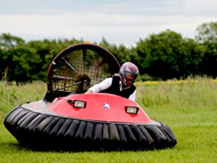 Five or Ten Lap Exhilarating Hovercraft Experience