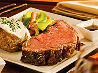 Two-Course Steak Meal with Sides and Coffee for Two