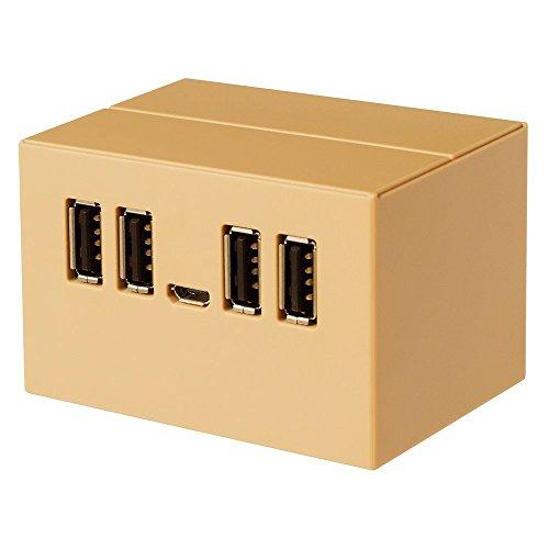 【Amazon.co.jp限定】PLANEX DANBOARD USB HUB DB-HUB01 バスパワー USB2.0/1.1 4ポート USBハブ