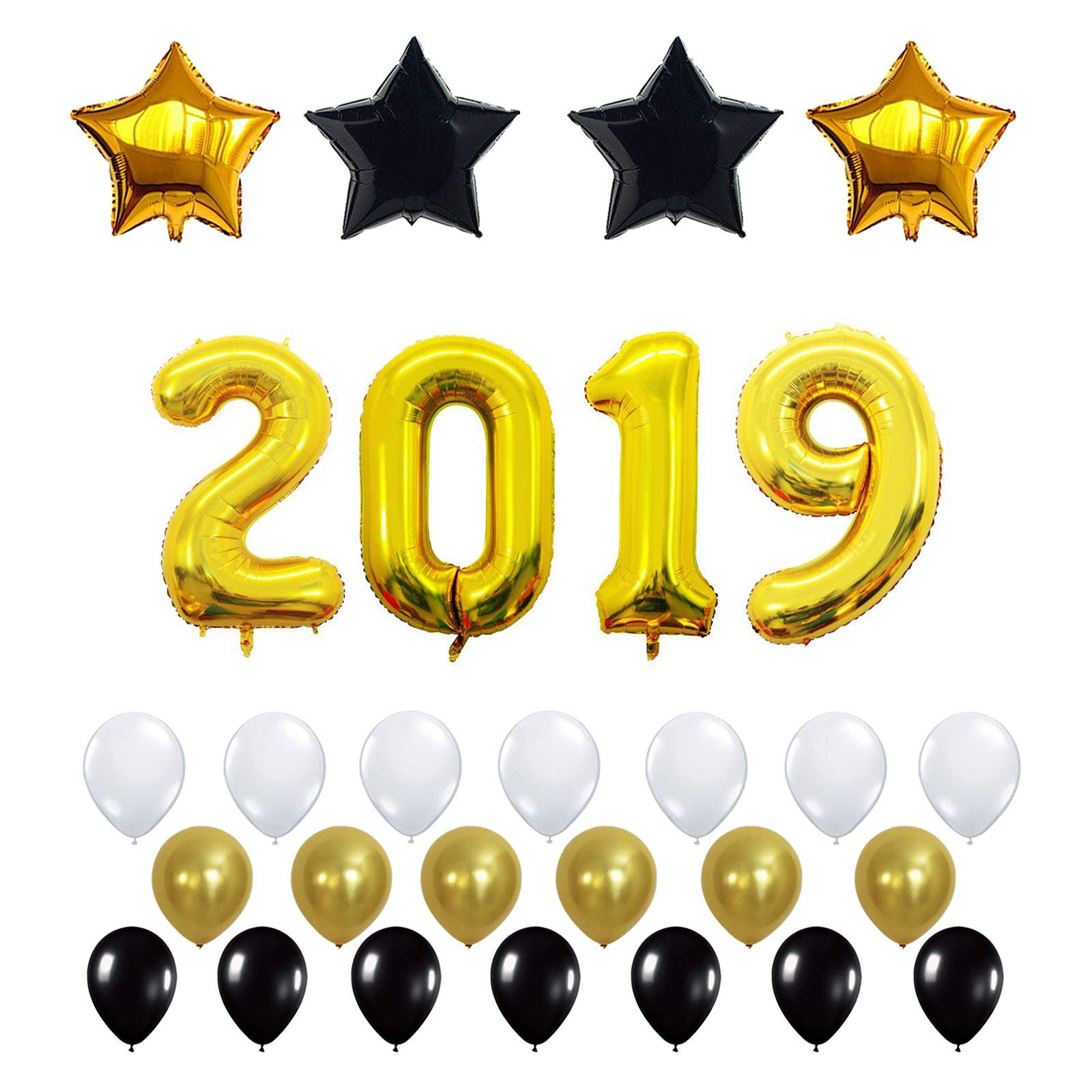 image is loading 40 inch gold number 2019 balloon new year
